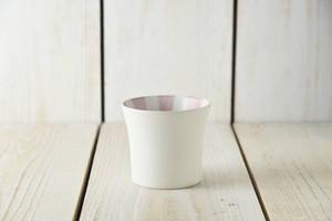 スクラッタ 9cmフリーカップ ピンク[日本製/美濃焼/洋食器]