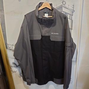 Columbia nylon zip up jacket
