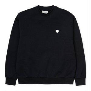 Carhartt (カーハート) W' HARTT SWEAT - Black / Wax