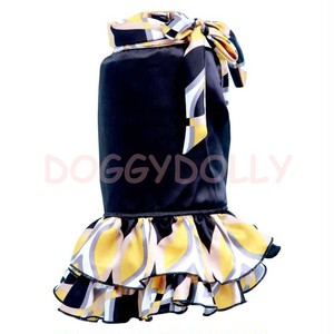 Yellow black dress ◆Doggydolly ◆