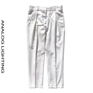 Cross Tuck Pants/IVORY
