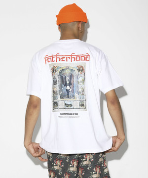 UrbanLegend Series THE BROTHER HOOD T-shirt [White]