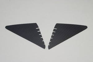 HONDA GROM(JC61) サイドシュラウドカーボン 黒