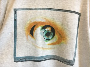 """eye"" printed t-shirts ""Freakylinks"""