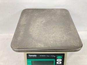 中古 ヤマト 業務用 デジタル式上皿自動はかり  秤  スケール  電子秤 上皿デジタルハカリ 10kg UDS-1100