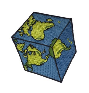 "STRIKEGENTLY.CO""Cubic Earth Patch"""
