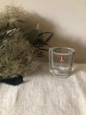 北欧 iittala DUO お花のキャンドルホルダー(花びら3枚)  ヴィンテージ