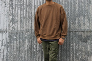 blurhms / New Rough & Smooth Thermal Loose Fit Crew - Neck L/S