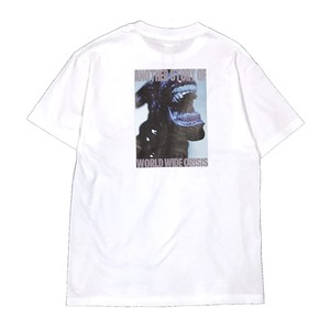 AVALONE AW17 A.D.2048 CRISIS ♀SHORT SLEEVE TEE / WHITE