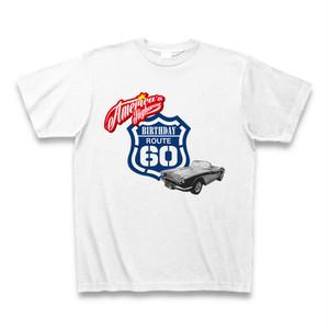 Tシャツで還暦を祝おう!還暦Route66Tシャツ3