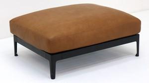dual sofa ottoman(leather)