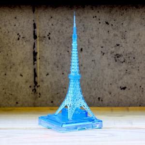 東京タワー イルミネーションカラー クリアブルー
