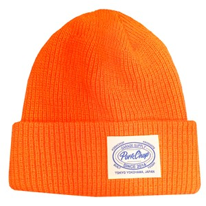 KNIT CAP/ORANGE