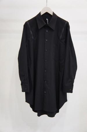 コットンファスナーシャツ -BLACK- / Ground Y