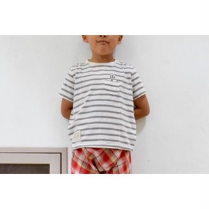 Simva Kids 504-0020 W-Pocket Border Crew S/S