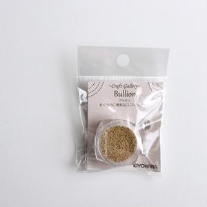 清原:レジンクラフト・ブリオン(約5g入)Gold