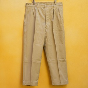 OLD FRENCH ARMY CHINO PANTS DEAD STOCK - 1