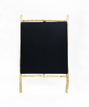 流木黒板サイン 片面タイプ