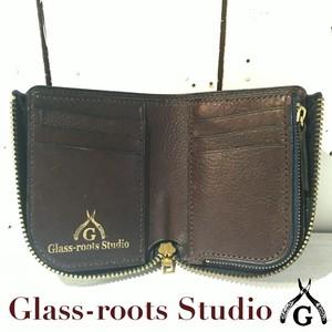 『GRSオリジナルレザーウォレット』L zip leather wallet