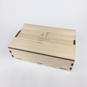 《檜原産 檜使用》マスク専用 檜の木箱