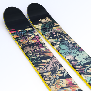 "【新入荷】J skis - THE METAL ""BLACK SUNSHINE"" Ryan Schmies コラボ"
