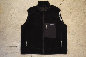 USED patagonia Retro-X vest Black -X-Large V0670