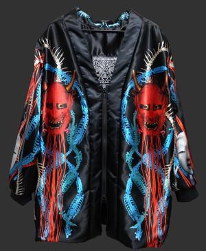 青赤鎖般若コートジャケット 改新版