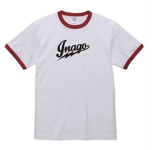 【体操服】鉄乃蝗 inago 白/赤 (size:L)