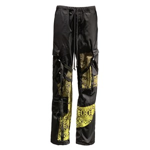ROGIC  Trousers BLACK YELLOW