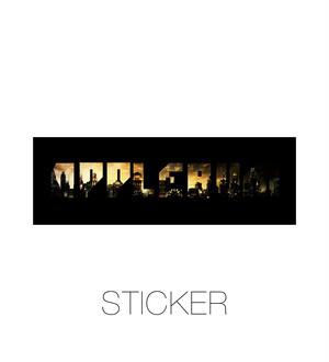 "【APPLEBUM】アップルバム ""Gotham City"" Sticker ステッカー"