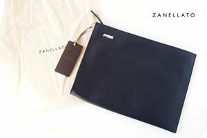 ザネラート|ZANELLATO|マルカプントレザー|クラッチバッグ NENO M+ 36152-25|ネイビー