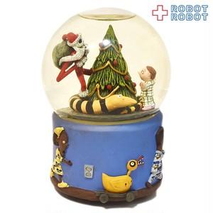 ナイトメア・ビフォア・クリスマス サンタ ジャック スノーグローブ
