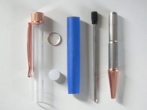 ハーバリウムボールペン パーツ 4セット