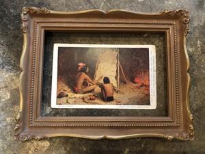 1900s 1906年 ビンテージ ポストカード インディアン indian  ネイティブ・アメリカン 歴史 アメリカ