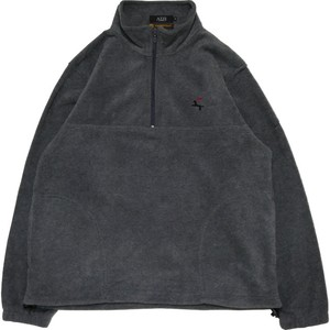 DET Quarter Zip Fleece Shirt (Grey)
