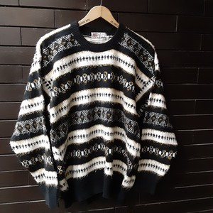 Pattern Sweater Knit 柄セーター ニット