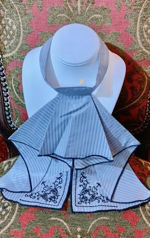 刺繍ジャボタイ -翅-