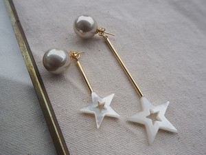 pearl shell star pierce