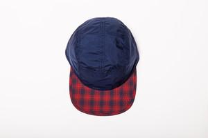 2 TONE CAMP CAP (NYxCHECK)