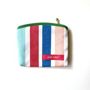北欧デザイン ティッシュケース付ポーチ | summer stripe