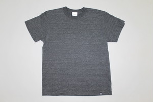 BASIC  TEE  SH   -MIX BLK-