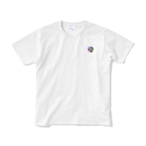 Hollywood ワンポイント Tシャツ (白)