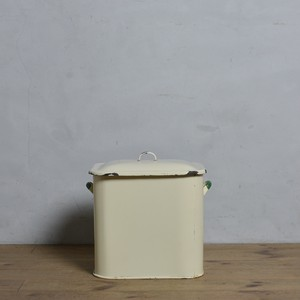 Bread Can / ブレッド カン【B】〈ブレッド缶・ボックス・収納・ホーロー・琺瑯・店舗什器・アンティーク・ヴィンテージ〉112183