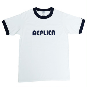 REPLICA / REPLICA Ringer TEE  White&Navy