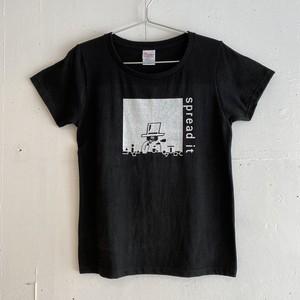 スプレッドくん Tシャツ レディース