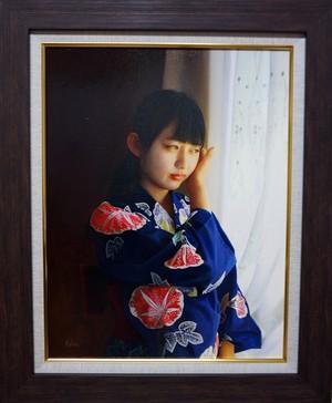 ※販売終了 潮田和也「藍花」 (再入荷を希望される場合はお気軽にご相談ください)