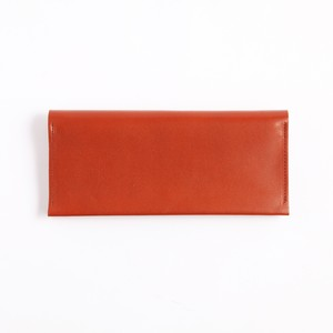 Postalco/Long Card & Coin Wallet/Brick Red【店頭在庫あり】