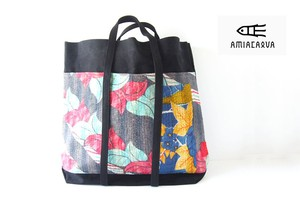 アミアカルヴァ|AMIACALVA|エスニック刺し子×キャンバスバッグ