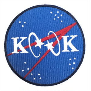 "INTL KOOK EXCHANGE ""NASA PATCH"""