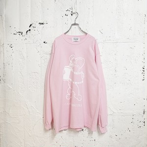 FILM L/S TEE(LIGHT PINK)